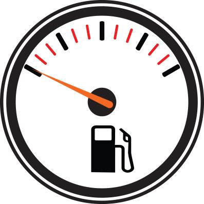 wskaznik ilości paliwa w baku